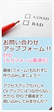 EFO(入力フォーム最適化)
